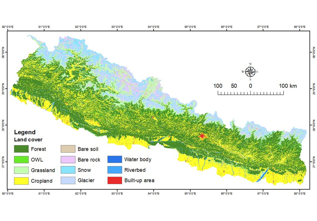 Land cover of Nepal