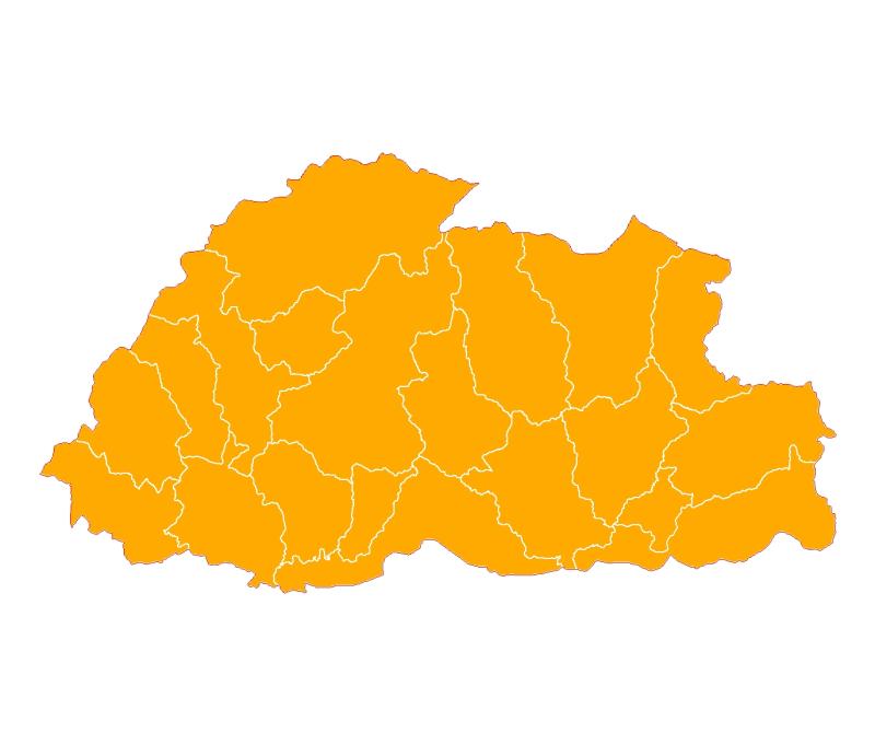 District Boundary of Bhutan