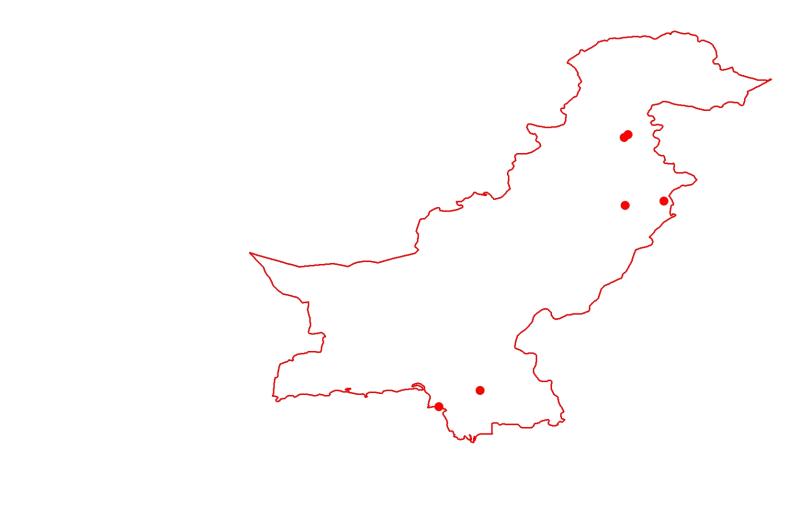 Major Cities of Pakistan