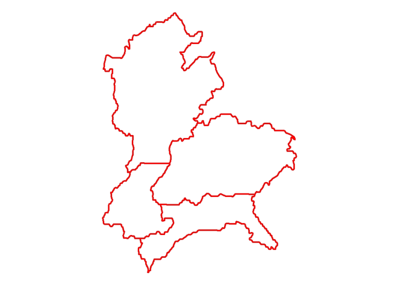 District Boundary of Divang Valley India