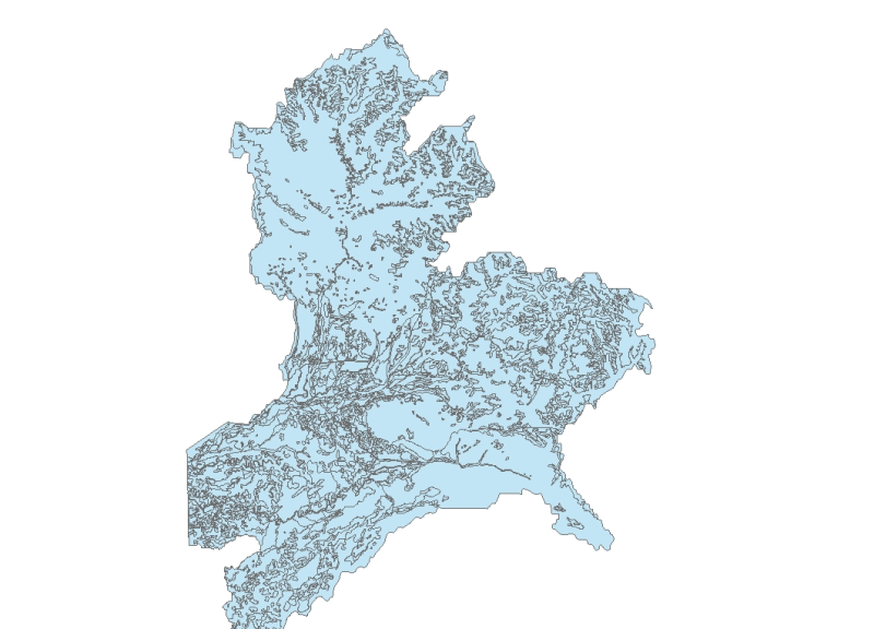 Land Use of Divang Valley India