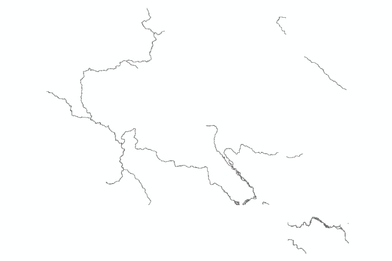 River Network of Central Karakoram National Park (CKNP), Pakistan.