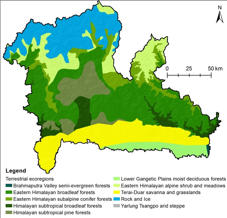 Ecoregions of the Kangchenjunga Landscape