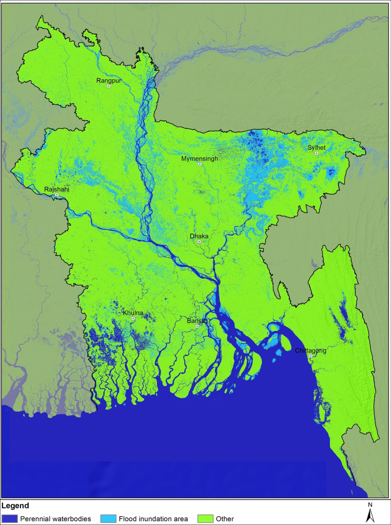 Flood data of Bangladesh August, 2017