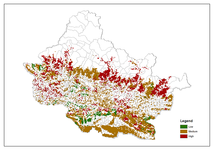 Dependence of local communities on forest ecosystems in Chitwan Annapurna Landscape (CHAL)