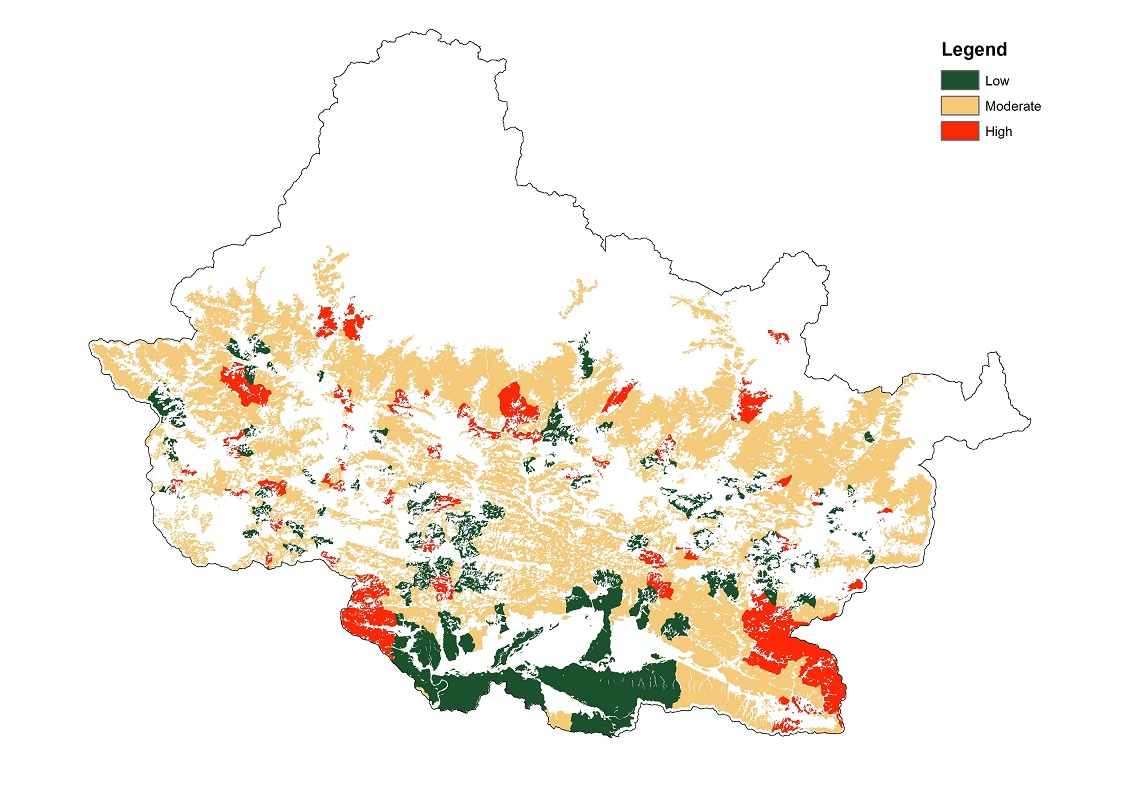 Climate change vulnerability of forest ecosystems in Chitwan Annapurna Landscape (CHAL)