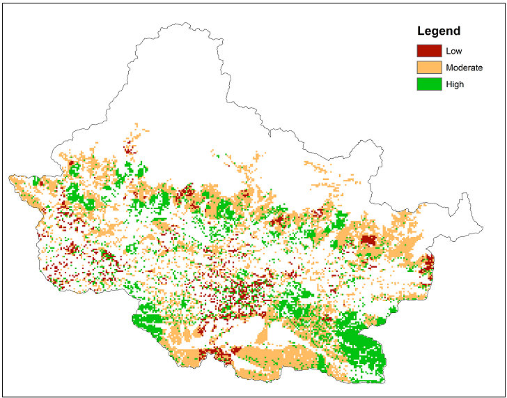 Climate change adaptive capacity of forest ecosystems in Chitwan Annapurna Landscape (CHAL)
