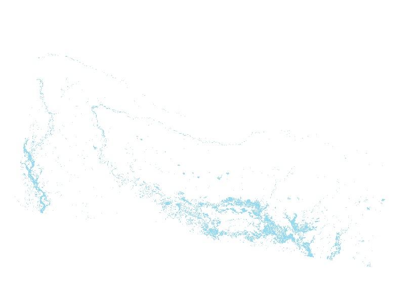 Flood data of Nepal on Aug 21, 2017