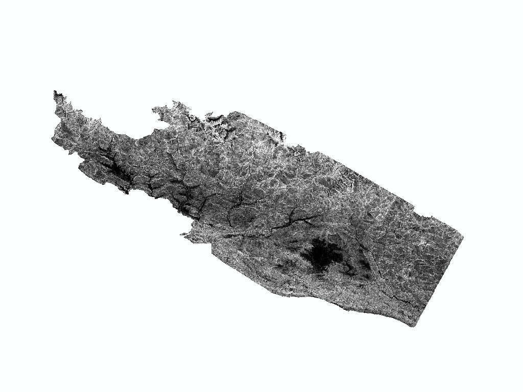 Internal Relief Map of Nepal's Gorkha Earthquake 2015 affected area