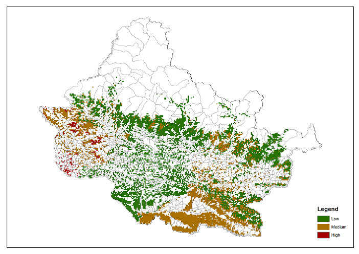 Dependence of local communities for NTFP on forest ecosystems in Chitwan Annapurna Landscape (CHAL)