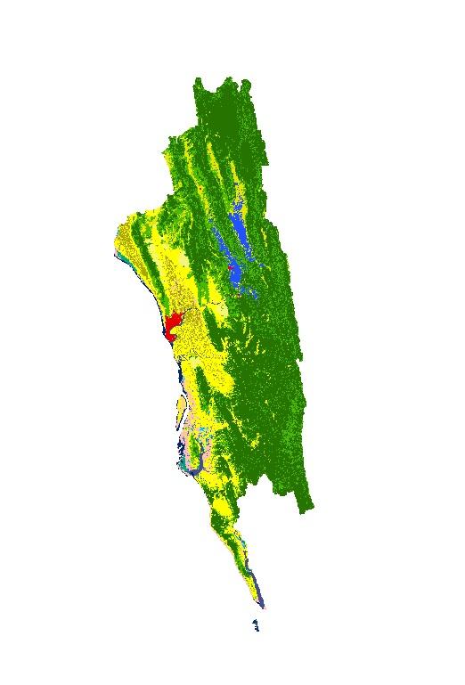 Land Cover of Greater Chittagong, Bangladesh 2000