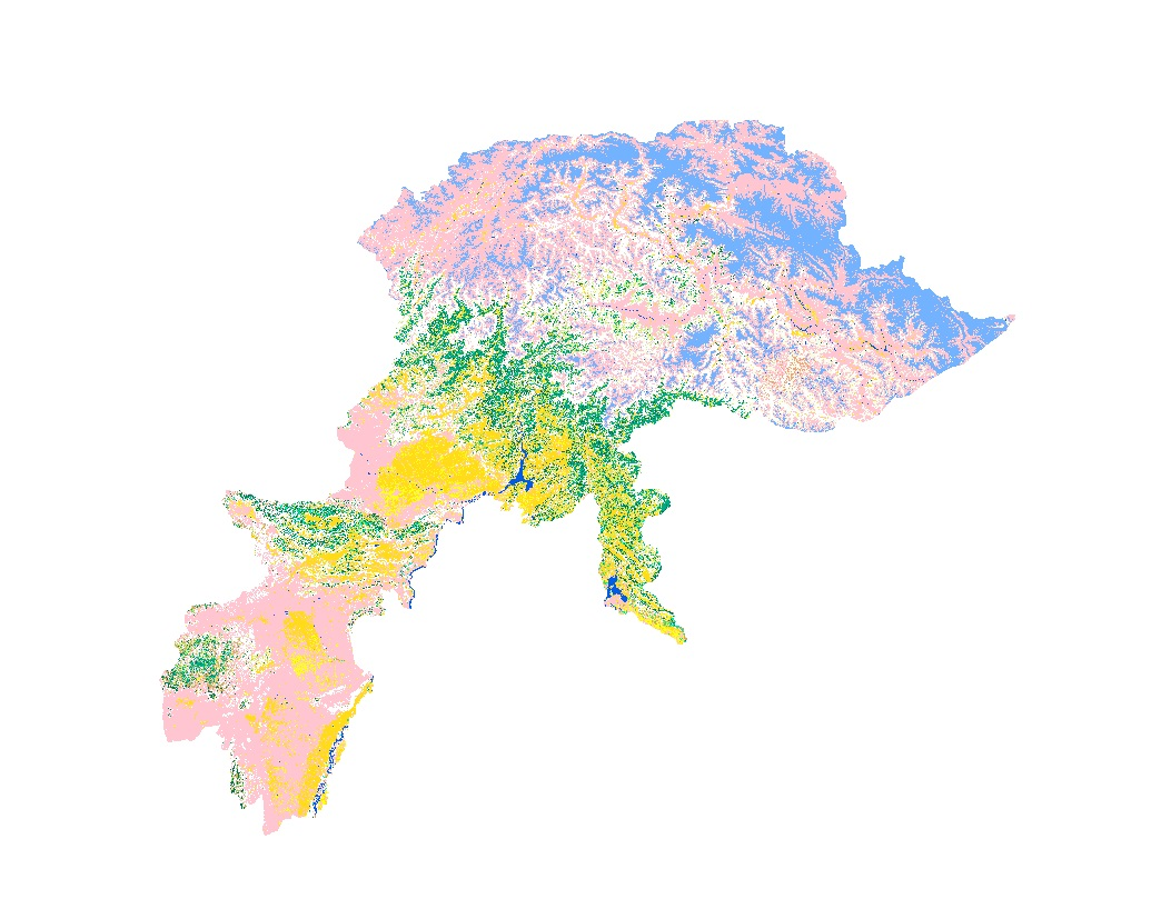 Land Cover of Pakistan 2010