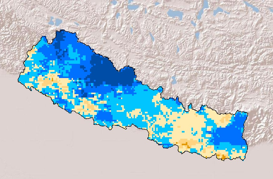 Drought Frequency in Nepal during Autumn season