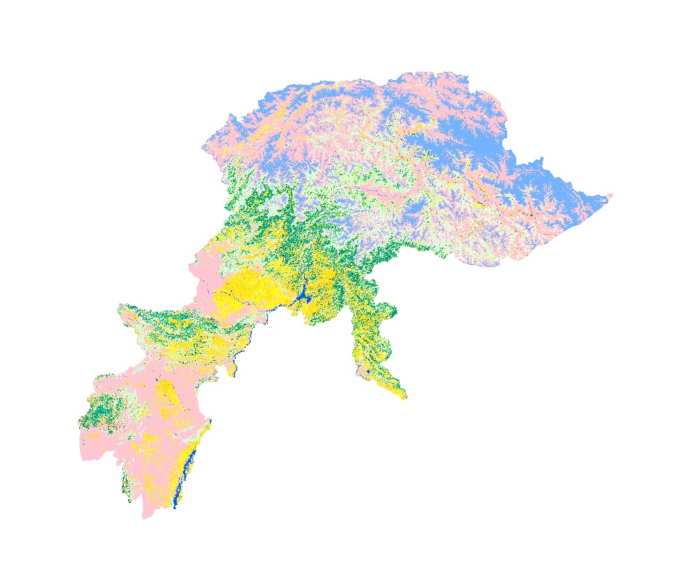 Land Cover of Pakistan 2000